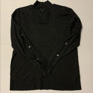 Cable & Gauge Sweaters - Cable and Gauge Sweater open sleeves